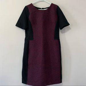Ricki's Maroon Black Contour Dress Size 12
